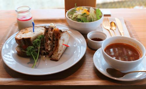 阿久根産アジフライのライ麦パンサンドセット【限定10食】